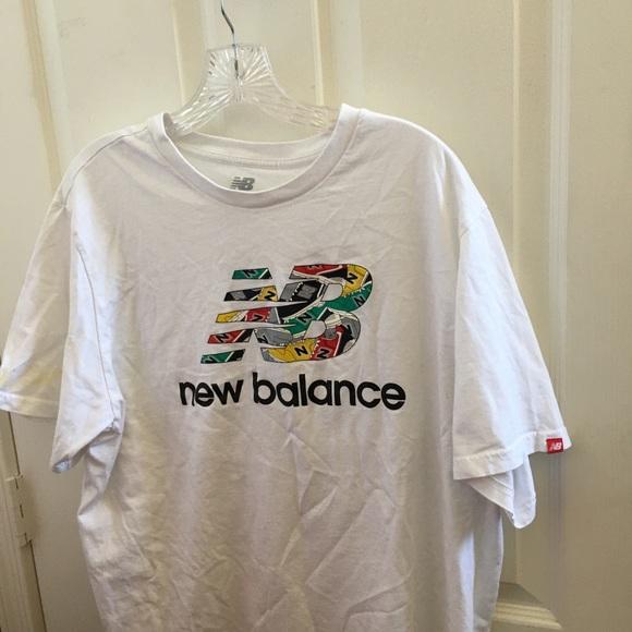 Men's new balance t shirt xxl